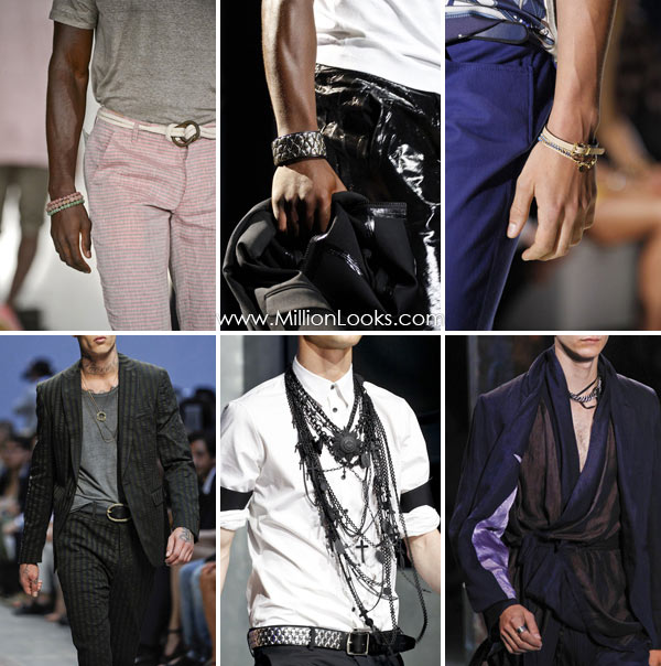 John Bartlett, DSquared2, Gucci, Diesel Black Gold, DSquared2, Ann Demeulemeester.